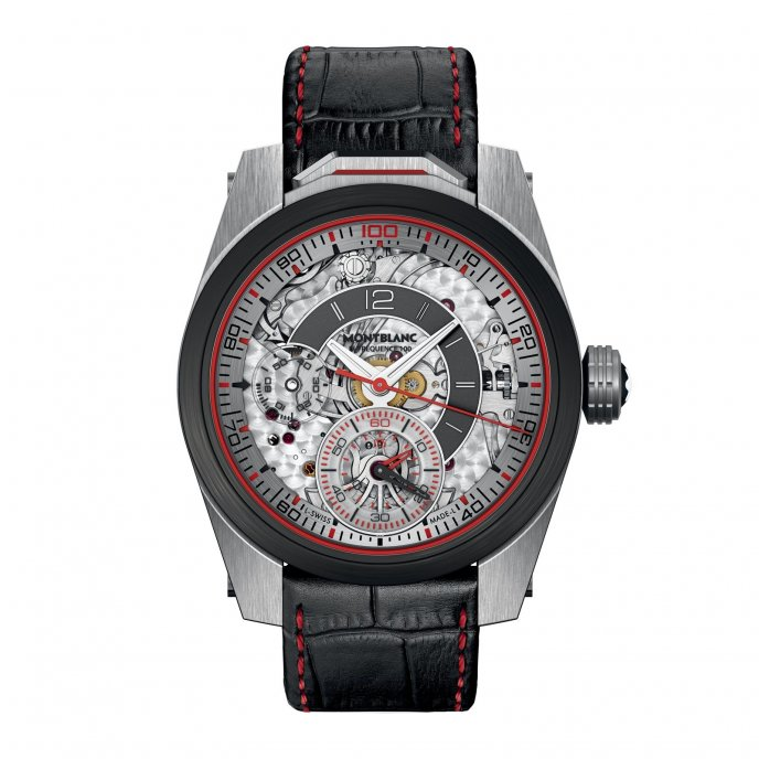 Montblanc TimeWalker Chronograph 100 111285 - watch face view