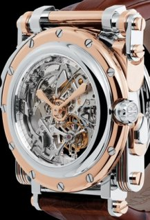 Opéra White gold on Pink gold