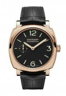 PAM00575 - 3 Days Oro Rosso – 42mm