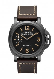 PAM00785 - Luminor Black Seal 8 Days Acciaio DLC 44mm