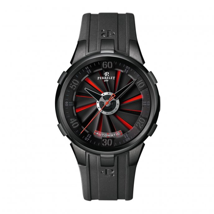Perrelet Turbine XL Rouge A1051-9-1 watch-face-view