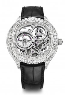Tourbillon Diamonf-Set Automatic Skeleton Exceptional Piece