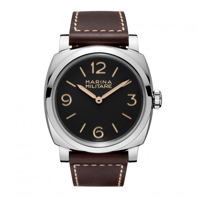Radiomir 1940 Marina Militare 3 Days Acciaio 47mm PAM00587 watch-face-view