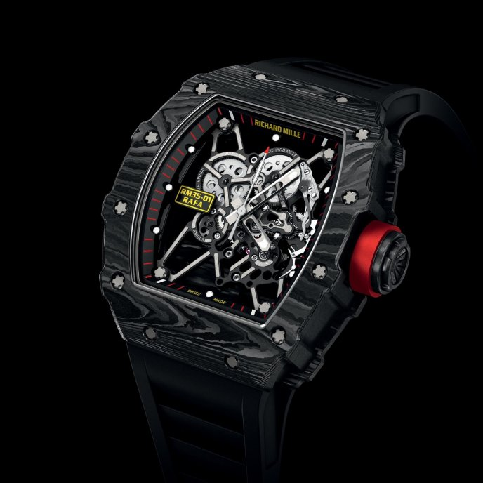 Richard Mille RM 35-01 Rafael Nadal - watch face view
