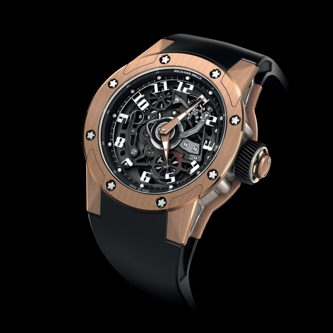 Richard Mille RM 63-01 Dizzy Hands - watch face view