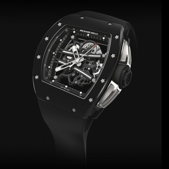 Richard Mille RM 61-01 Yohan Blake Limited Edition - watch face view
