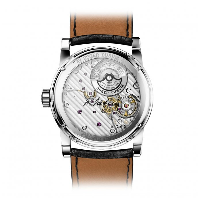 Roger Dubuis Hommage Automatique or gris RDDBHO0563 - watch back view