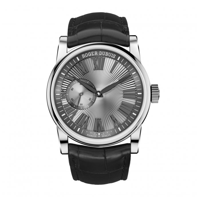 Roger Dubuis Hommage Automatique or gris RDDBHO0563 - watch face view