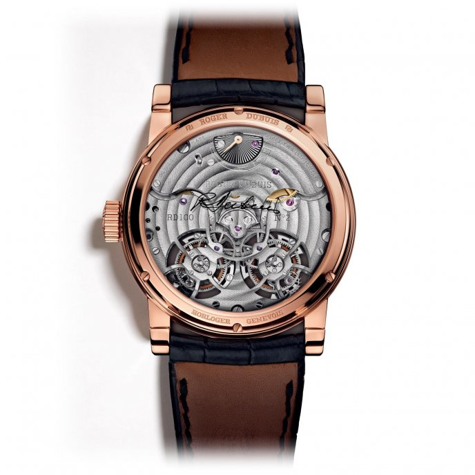 Roger Dubuis Hommage Haute Joaillerie RDDBHO0570 - watch back view