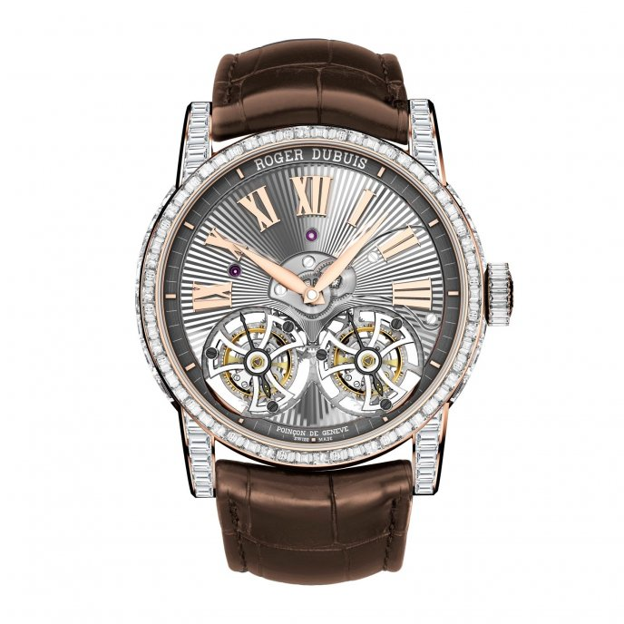 Roger Dubuis Hommage Haute Joaillerie RDDBHO0570 - watch face view