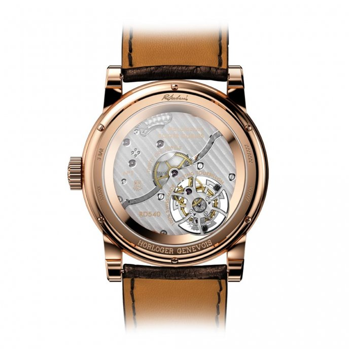 Roger Dubuis Hommage Tourbillon Volant Tribute to Mr. Roger Dubuis RDDBHO0568 - back view