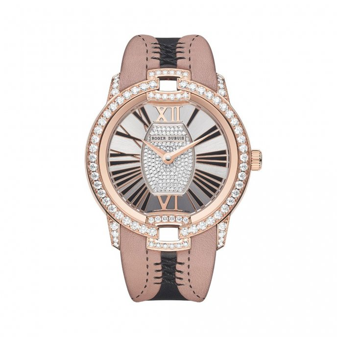 Roger Dubuis Velvet Haute Couture Corsetry watch face view