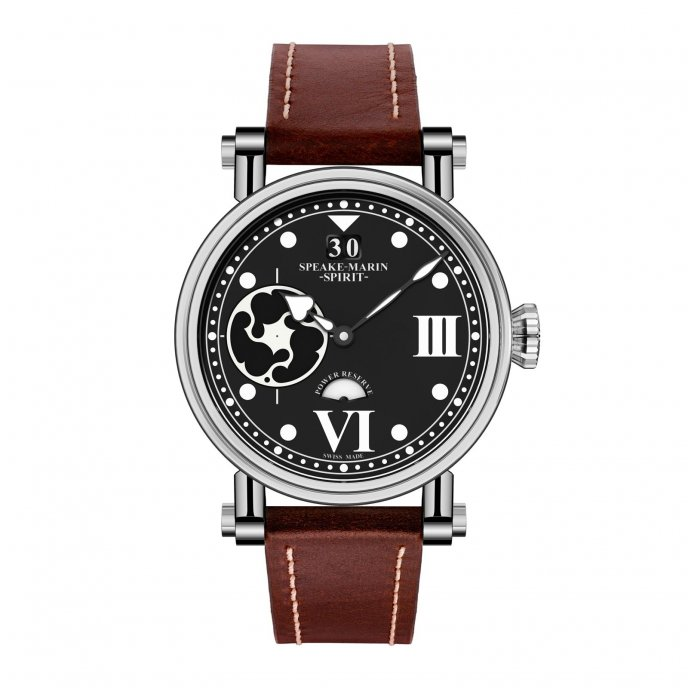 Speake-Marin The Piccadilly Spirit Sing Commander - watch face view