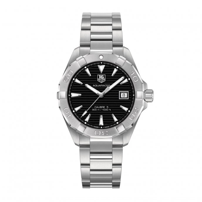 TAG Heuer Aquaracer 300M WAY2110.BA0910 watch face view