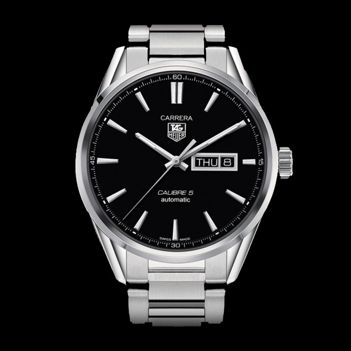 Tag Heuer Carrera 5 Day Date Automatic 41mm Watch-face-view