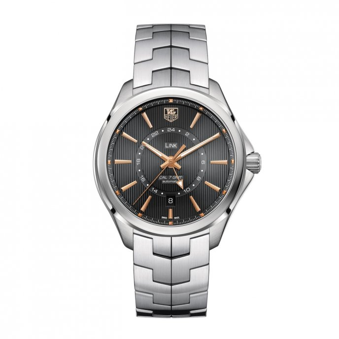 TAG Heuer Link Calibre 7 GMT watch face view