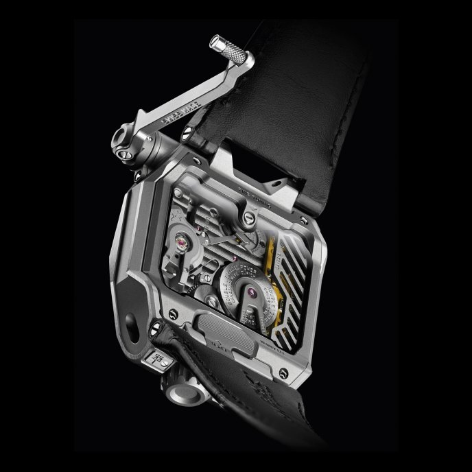 Urwerk U-Research Division EMC - back view
