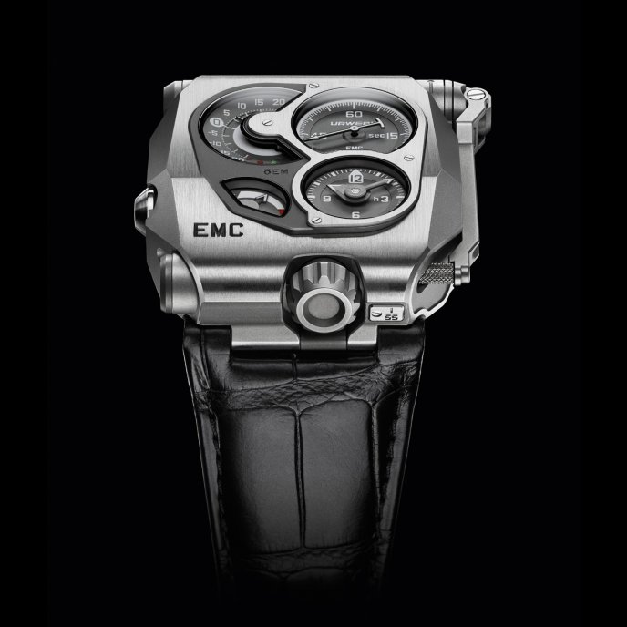 Urwerk U-Research Division EMC - face view