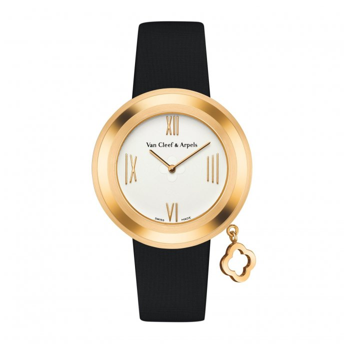 Van Cleef & Arpels Charms Gold M - watch face view