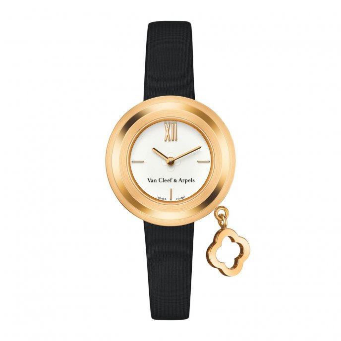 Van Cleef & Arpels Charms Gold Mini - watch face view