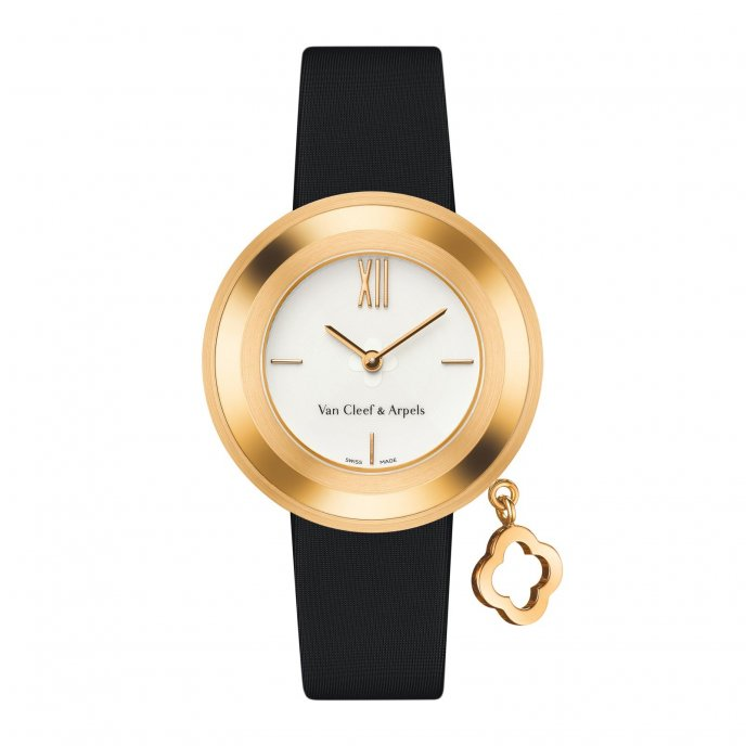 Van Cleef & Arpels Charms Gold S VCARO4HT00 - watch face view