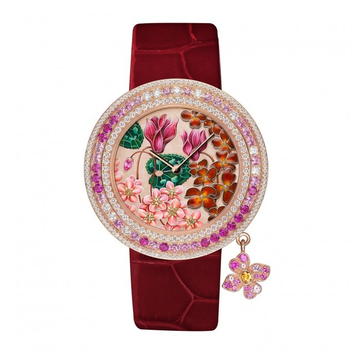 Van Cleef & Arpels Charms extraordinaire Amour - watch face view