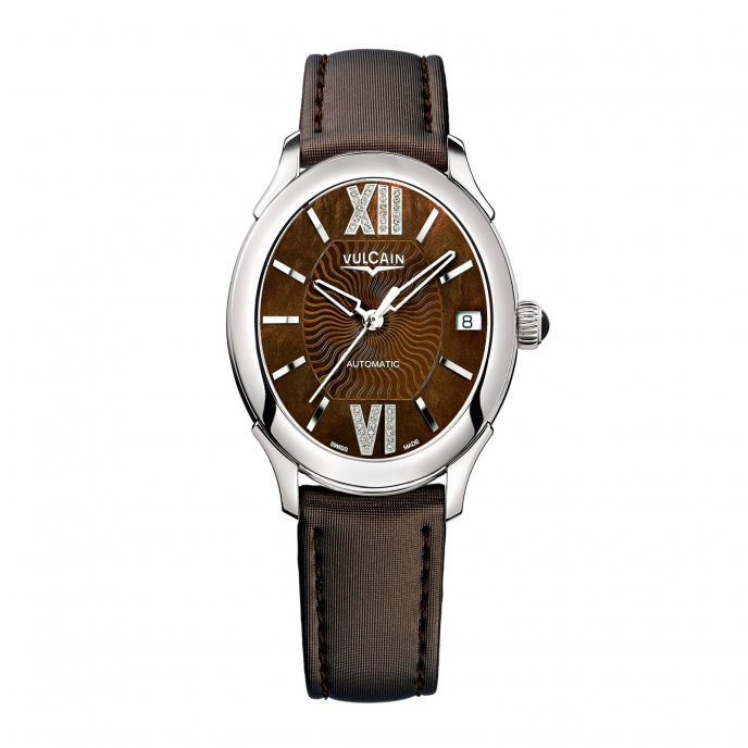 Vulcain First Lady Automatic 610164N4S.BAS407 Watch-face-view