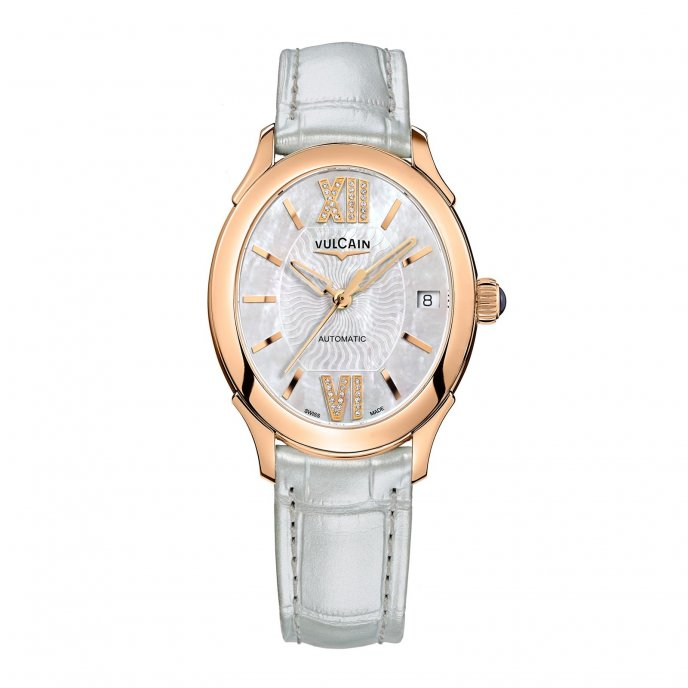 Vulcain First Lady Automatic 610564N2T.BBL412 Watch-face-view