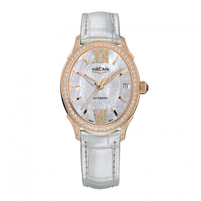 Vulcain First Lady Automatic 61S564N2T.BBL412 Watch-face-view
