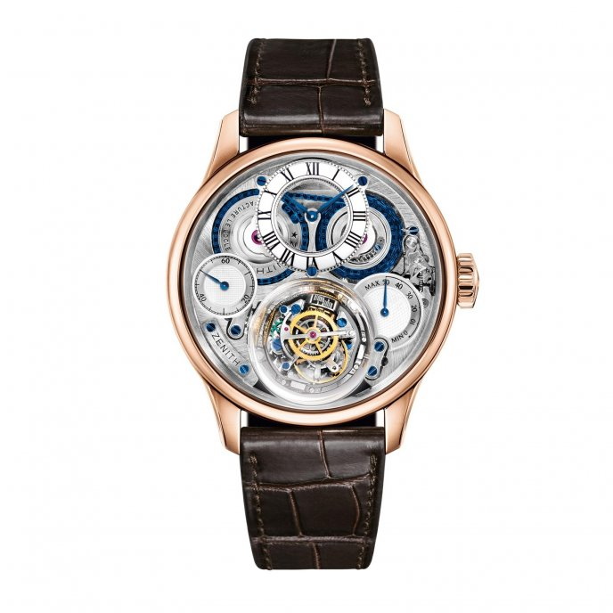 Zenith - Christophe Colomb Hurricane - 18.2212.8805/36.C713 - watch face view