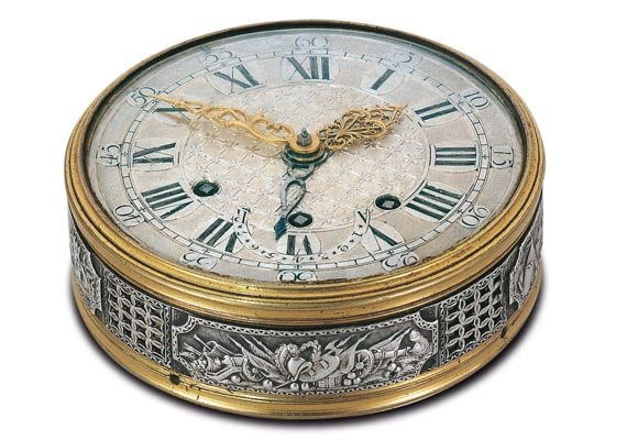 1788, Marie-Antoinette's Travel clock with alarm, signed Charles LE ROY, which she offered to her lover Count Fersen