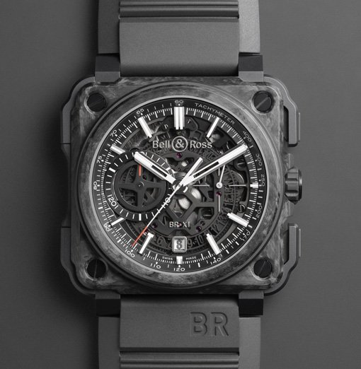 Bell & Ross BR-X1 Skeleton Chronograph - Carbon Forgé®