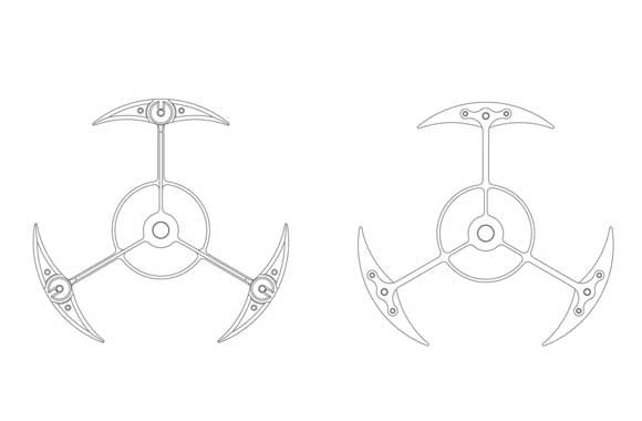 Bevel's patented hybrid structure felly balance wheel