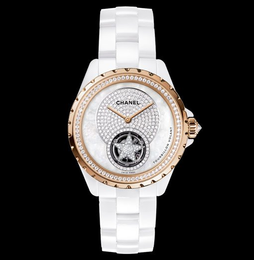 Chanel J12 Tourbillon Volant Or Beige