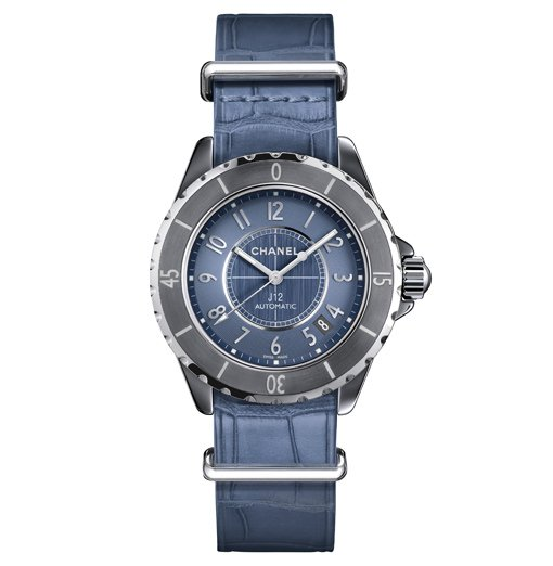 Chanel J12.G10 NATO Chromatic Bleue
