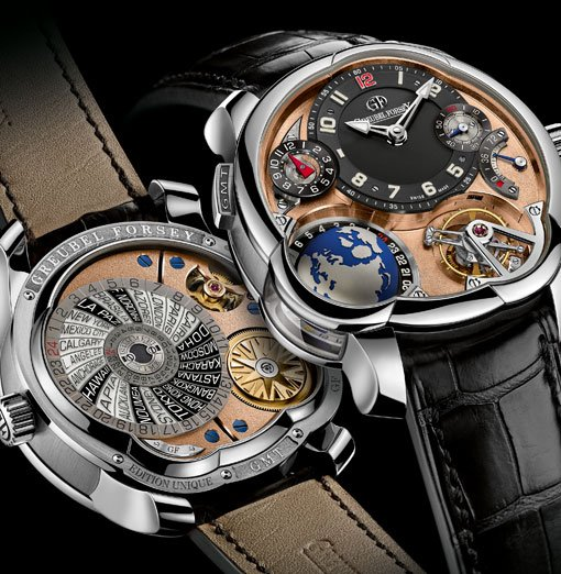 Greubel Forsey - GMT Mouvement 5N