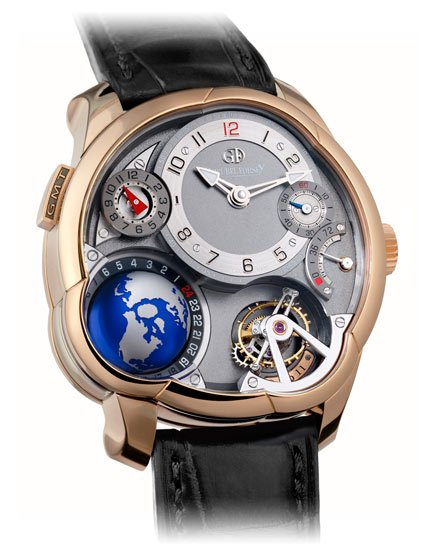 Greubel Forsey GMT red gold