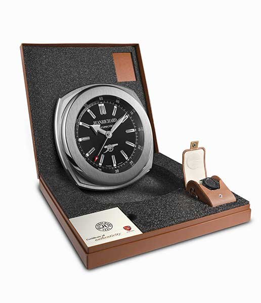 Jeanrichard Terrascope Arsenal Chronograph boxed set
