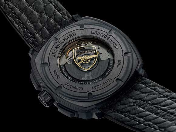 Jeanrichard Terrascope Chronograph Arsenal limited edition