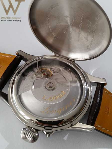 Longines Hour Angle Watch case back
