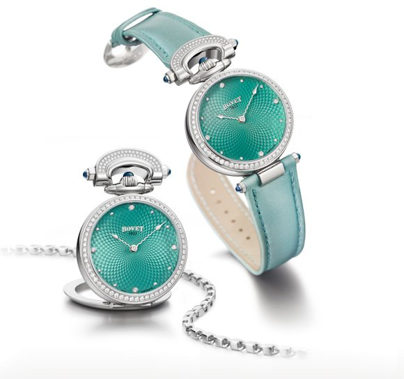 Bovet Amadeo® Fleurier 36 « Miss Audrey » Turquoise
