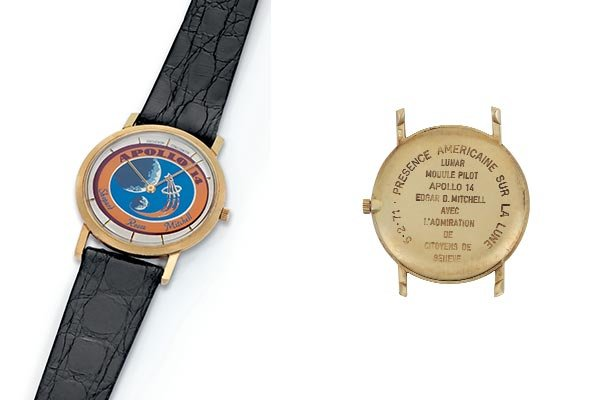 Vacheron Constantin Apollo 14 for Edgar Mitchell timepiece