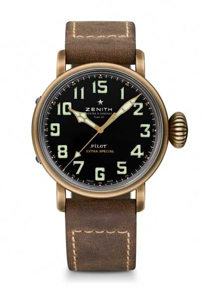Zenith Pilot Type 20 Extra Special Unique Piece WorldTempus